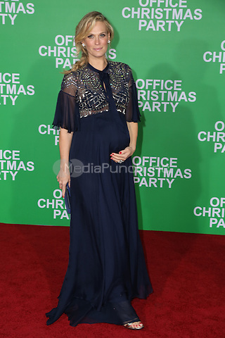 WESTWOOD, CA - DECEMBER 07: Molly Sims arrives at the premiere of Paramount Pictures' 'Office Christmas Party' at Regency Village Theatre on December 7, 2016 in Westwood, California.  (Credit: Parisa Afsahi/MediaPunch).