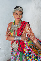 Tharu girl, Dang, Nepal 20016<br />