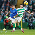29.12.2019 Celtic v Rangers: Alfredo Morelos and Ryan Christie