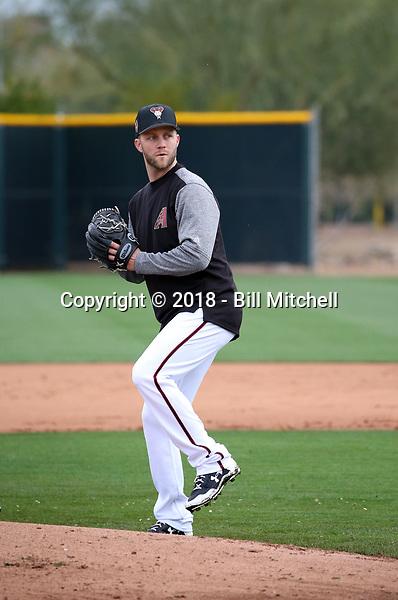 Brad Boxberger - Arizona Diamondbacks 2018 spring training (Bill Mitchell)