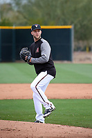 Brad Boxberger - Arizona Diamondbacks 2018 spring training (Bill Mitchell)
