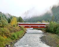Office Covered Bridge in Westfir, Oregon