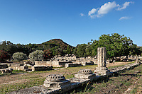 Leonidaion monument (4th cent. B.C.) in Olympia, Greece