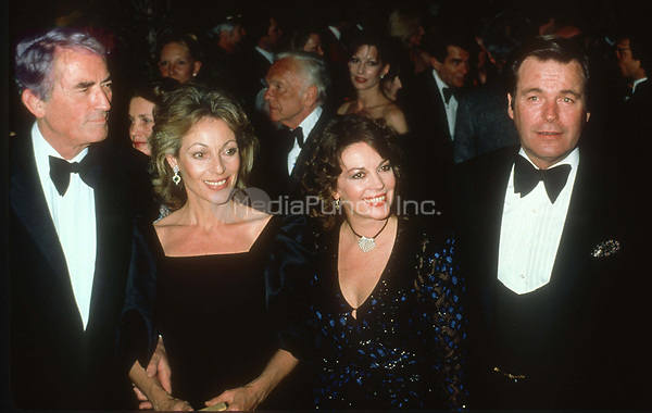 Gregory &amp; Veronique Peck Natalie Wood Robert Wagner 1978<br /> Photo By John BarrettPHOTOlink.net / MediaPunch