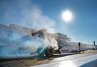 Jul 26, 2019; Sonoma, CA, USA; NHRA top fuel driver Steve Torrence during qualifying for the Sonoma Nationals at Sonoma Raceway. Mandatory Credit: Mark J. Rebilas-USA TODAY Sports