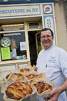 Europe/France/Bretagne/29/Finistère/ Douarnenez: Mr Guezengar boulanger, patissier
