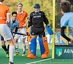 BLOEMENDAAL  - Flip Wijsman (Bldaal)  , competitiewedstrijd junioren  landelijk  Bloemendaal JA1-Nijmegen JA1 (2-2) . COPYRIGHT KOEN SUYK