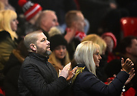 Fleetwood Town fans show their support<br /> <br /> Photographer Richard Martin-Roberts/CameraSport<br /> <br /> The EFL Sky Bet League One - Fleetwood Town v Doncaster Rovers - Wednesday 26th December 2018 - Highbury Stadium - Fleetwood<br /> <br /> World Copyright © 2018 CameraSport. All rights reserved. 43 Linden Ave. Countesthorpe. Leicester. England. LE8 5PG - Tel: +44 (0) 116 277 4147 - admin@camerasport.com - www.camerasport.com