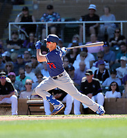 Zach McKinstry - Los Angeles Dodgers 2020 spring training (Bill Mitchell)