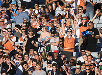 Fans and supporters.<br /> New Zealand Black Caps v Australia.Tri-Series International Twenty20 cricket final. Eden Park, Auckland, New Zealand. Wednesday 21 February 2018. &copy; Copyright Photo: Andrew Cornaga / www.Photosport.nz