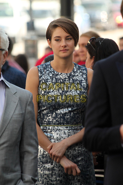 HOLLYWOOD, CA - March 17: Shailene Woodley at the Kate Winslet Star on the Hollywood Walk of Fame, Hollywood,  March 17, 2014.  <br /> CAP/MPI/JO<br /> &copy;Janice Ogata/MediaPunch/Capital Pictures