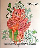 Sandra, STILL LIFE STILLEBEN, NATURALEZA MORTA, paintings+++++its a surprise owl,GBSR08,#I#, EVERYDAY,owl,owls