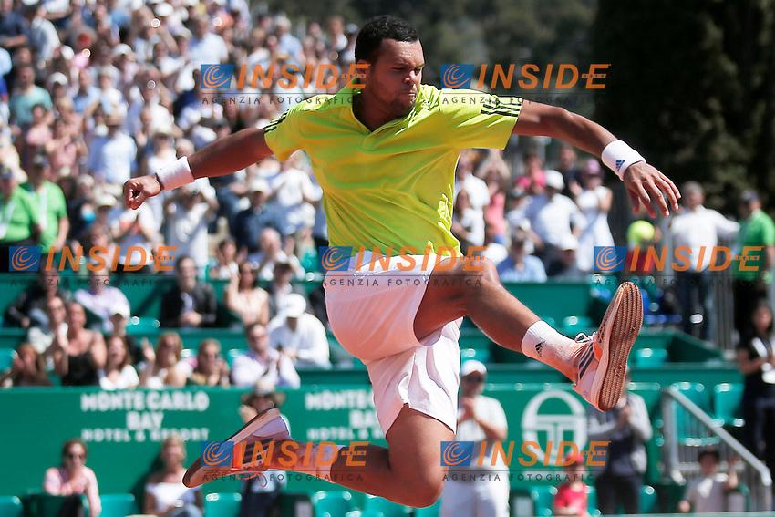 Jo-Wilfried Tsonga (FRA), Monte Carlo 17-4-2014, Monte Carlo Tennis Rolex Masters, Foto Marco Bertorello/Insidefoto