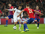 Tottenham's Dele Alli goes past CSKA Moscow's Alan Dzagoev during the Champions League group match at Wembley Stadium, London. Picture date December 7th, 2016 Pic David Klein/Sportimage
