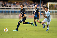San Jose, CA - Thursday December 31, 2015: Luis Felipe during a Major League Soccer (MLS) match between the San Jose Earthquakes and Sporting Kansas City at Avaya Stadium.