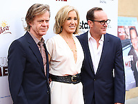 "HOLLYWOOD, LOS ANGELES, CA, USA - MAY 22: William H. Macy, Felicity Huffman, Clark Gregg at the Los Angeles Premiere Of ""Trust Me"" held at the Egyptian Theatre on May 22, 2014 in Hollywood, Los Angeles, California, United States. (Photo by Xavier Collin/Celebrity Monitor)"