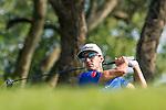 Rafael Cabrera Bello of Spain tees off during the 58th UBS Hong Kong Golf Open as part of the European Tour on 10 December 2016, at the Hong Kong Golf Club, Fanling, Hong Kong, China. Photo by Marcio Rodrigo Machado / Power Sport Images