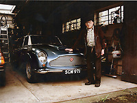 BNPS.co.uk (01202 558833)<br /> Pic: Bonhams/BNPS<br /> <br /> Coventry based engineer Malcolm Cramp cherished the car for 54 years.<br /> <br /> All original - Aston Martin DB4 GT - One of only 9 ever built.<br /> <br /> A super rare Aston Martin sports car has sold at auction for a whopping £2.4m after an incredible 54 years in the same ownership.<br /> <br /> The DB4 GT Lightweight dates back to 1961 and was one of only nine of its kind to be built by the British marque.<br /> <br /> Its first owner was gentleman racer and Northern industrialist Phil Scragg but it was purchased by engineer Malcolm Cramp in 1965.