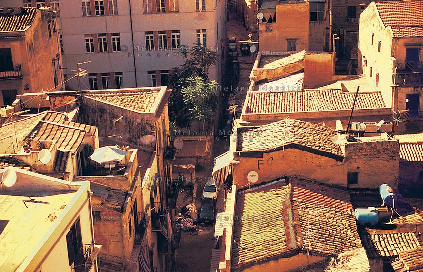Albergheria neighborood in Palermo.<br /> Quartiere Albergheria di Palermo.
