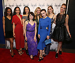 Irina Dvorovenko with the cast attends the Opening Night Performance Celebration for  'The Beast In The Jungle' at The Vineyard Theatre on May 23, 2018 in New York City.