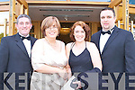 Roger and Bridget Crowley with Claire Horan and Keith lynch all sat nite ball itt   Copyright Kerry's Eye 2008
