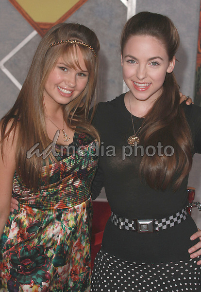 "18 September 2008 - Hollywood, California - Debby Ryan and Brittany Curran. ""Beverly Hills Chihuahua"" Los Angeles Premiere held at the El Capitan Theatre. Photo Credit: Charls Harris/AdMedia"