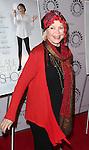 Ellen Burstyn attends the 'Elaine Stritch: Shoot Me' screening at The Paley Center For Media on February 19, 2014 in New York City.