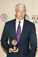 Anderson Cooper at The George Foster Peabody Awards at the Waldorf Astoria in New York City. May 21, 2012. © Laura Trevino/MediaPunch Inc. /*NORTEPHOTO.COM*<br />
