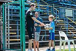 11.01.2019, Bidvest Stadion, Braampark, Johannesburg, RSA, FSP, SV Werder Bremen (GER) vs Bidvest Wits FC (ZA)<br /> <br /> im Bild / picture shows <br /> Florian Kohfeldt (Trainer SV Werder Bremen) begrüßt Balljungen vor Spielbeginn , <br /> <br /> Foto © nordphoto / Ewert