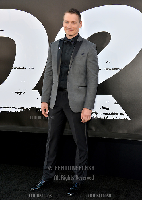 Kazy Tauginas at the premiere for &quot;The Equalizer 2&quot; at the TCL Chinese Theatre, Los Angeles, USA 17 July 2018<br /> Picture: Paul Smith/Featureflash/SilverHub 0208 004 5359 sales@silverhubmedia.com