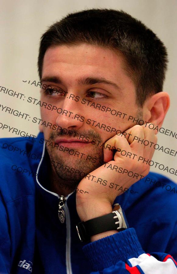 SPORT ODBOJKA VOLLEYBALL REPREZENTACIJA SERBIA NATIONAL TEAM  Slobodan Boskan 10.11.2006. photo: Pedja Milosavljevic<br />