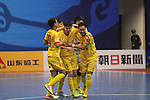 Vic Vippers vs Shenzhen Nanling during the 2014 AFC Futsal Club Championship Group Stage A match on August 25, 2014 at the Shuangliu Sports Centre in Chengdu, China. Photo by World Sport Group