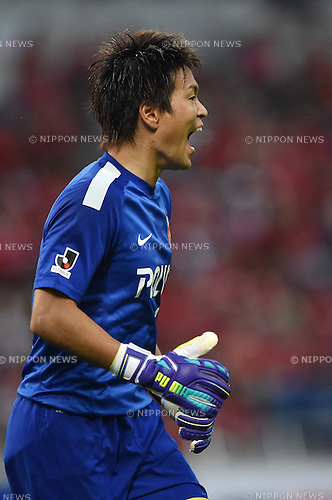 Shusaku Nishikawa (Reds),<br /> AUGUST 16, 2014 - Football / Soccer :<br /> 2014 J.League Division 1 match between Urawa Red Diamonds 1-0 Sanfrecce Hiroshima at Saitama Stadium 2002 in Saitama, Japan. (Photo by AFLO)