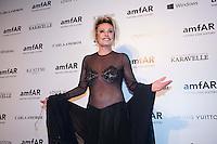 SAO PAULO, SP, 04.03.2014 - BAILE GALA AMFAR - Ana Maria Braga é vista durante baile de gala da AmFar, na regiao oeste da cidade São Paulo, na noite desta sexta-feira.(Foto: Adriana Spaca / Brazil Photo Press).