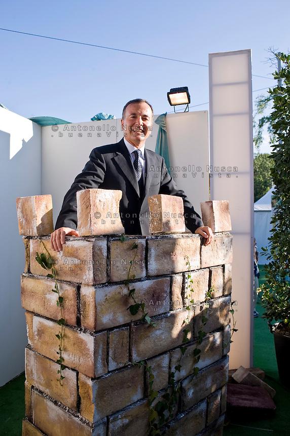 Rome, 11 Settembre, 2010. Franco Frattini durante la sua partecipazione ad Atreju 2010.