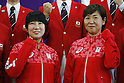 (L-R)  Takase sakayori Akiko Sega (JPN), JULY 19, 2016 - Shooting - Rifle : Japan Shooting team member attends a press conference in Tokyo, Japan. Japan Shooting Rifle Association has announced the Japan National team for 2016 Rio de Janeiro Summer Olympics and Paralympics. (Photo by Yusuke Nakanishi/AFLO SPORT)