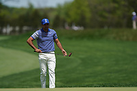 Jason Day (AUS) on the 11th green during the 3rd round at the PGA Championship 2019, Beth Page Black, New York, USA. 18/05/2019.<br /> Picture Fran Caffrey / Golffile.ie<br /> <br /> All photo usage must carry mandatory copyright credit (© Golffile | Fran Caffrey)