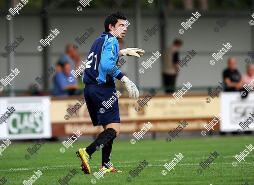 2011-08-05 / Voetbal / seizoen 2011-2012 / KFC Dessel Sport / Tanju Burhan..Foto: mpics