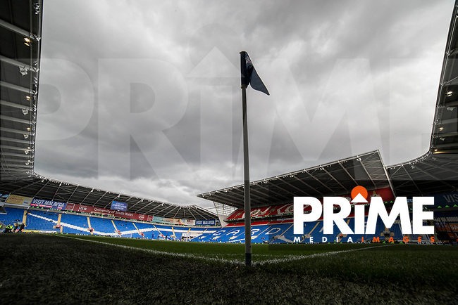 General view inside the ground ahead of the Sky Bet Championship match between Cardiff City and Sheffield Wednesday at Cardiff City Stadium, Cardiff, Wales on 16 September 2017. Photo by Mark  Hawkins / PRiME Media Images.
