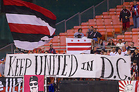 DC United erased a 1st half deficit with three second half goals to defeat the visiting Fire 3-1 at RFK Stadium in Washington DC.