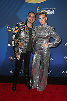7 February 2019 - Los Angeles, California - Evan Ross, Ashlee Simpson. the Delta Air Line 2019 GRAMMY Party held at Mondrian Los Angeles. Photo Credit: Faye Sadou/AdMedia