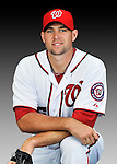 25 February 2011: Washington Nationals' pitcher Craig Stammen poses for his Photo Day portrait at Space Coast Stadium in Viera, Florida. Mandatory Credit: Ed Wolfstein Photo