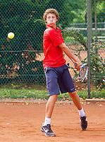 08-08-12, Netherlands, Hillegom, Tennis, NJK,  Floris Verbruggen   Mats Hermans