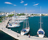 Greece, Dodecanese, Kos Island, Kos-Town: Harbour View | Griechenland, Dodekanes, Insel Kos, Kos-Stadt: Hafen