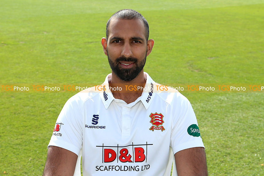Varun Chopra of Essex in Specsavers County Championship kit during the Essex CCC Press Day at The Cloudfm County Ground on 5th April 2017