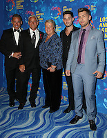 WEST HOLLYWOOD, CA - SEPTEMBER 24: Greg Louganis, Johnny Chaillot, Lance Bass, Michael Turchin, Lorri L. Jean attends the Los Angeles LGBT Center's 47th Anniversary Gala Vanguard Awards at Pacific Design Center on September 24, 2016 in West Hollywood, California. (Credit: Parisa Afsahi/MediaPunch).