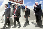 Noel Dempsey, Dermot Ahern and Seamus Kirk at the opening of the new pier in Clogherhead, Co.Louth...Photo NEWSFILE/Jenny Matthews.(Photo credit should read Jenny Matthews/NEWSFILE)....This Picture has been sent you under the condtions enclosed by:.Newsfile Ltd..The Studio,.Millmount Abbey,.Drogheda,.Co Meath..Ireland..Tel: +353(0)41-9871240.Fax: +353(0)41-9871260.GSM: +353(0)86-2500958.email: pictures@newsfile.ie.www.newsfile.ie.FTP: 193.120.102.198.