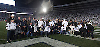 State College, PA - 10/22/2016:  The 1986 National Championship team was honored during halftime. Penn State upset #2 Ohio State by a score of 24-21 on Saturday, October 22, 2016, at Beaver Stadium in University Park, PA.<br /> <br /> Photos by Joe Rokita / JoeRokita.com