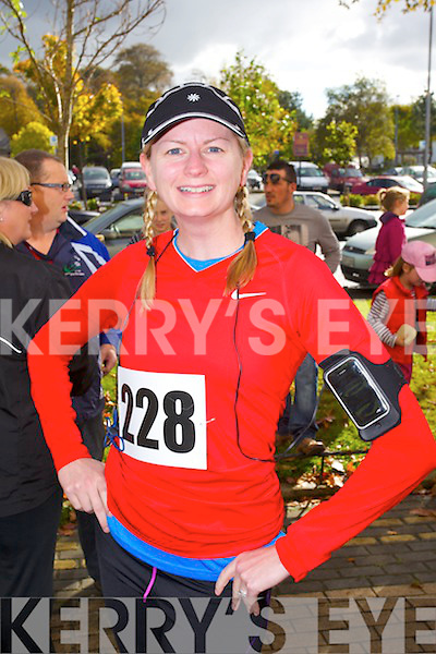 Megan Murray pictured at the Tralee Carers 10k Mini Marathon at the Brandon Hotel on Sunday