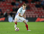 England's Dunca Watmore in action during the Under 21 International Friendly match at the St Mary's Stadium, Southampton. Picture date November 10th, 2016 Pic David Klein/Sportimage
